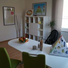 Praxiszimmer für Ernährungsberatung