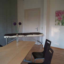 Praxiszimmer für Logopädie