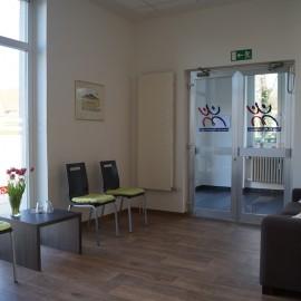 Praxis für Physiotherapie - Wartezimmer