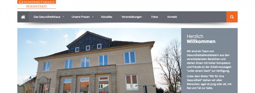 Wir möchten Ihnen unsere neue Homepage vorstellen